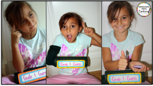 Explore 5 senses with a mystery box. Grab & Guess is a DIY learning toy to explore sense of touch.