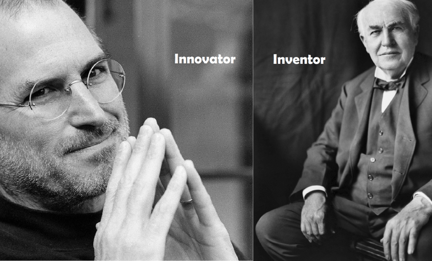 Steve Jobs & Thomas Edison
