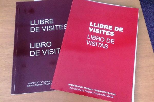 llibre de visites