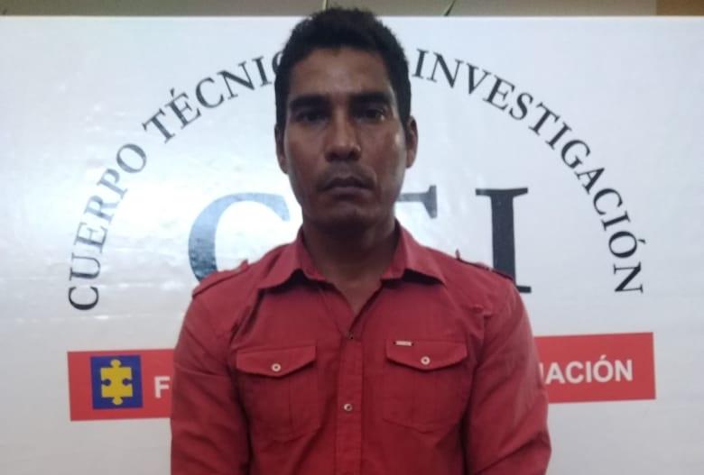 Hombre capturado tras haber abusado a su hija de 8 años