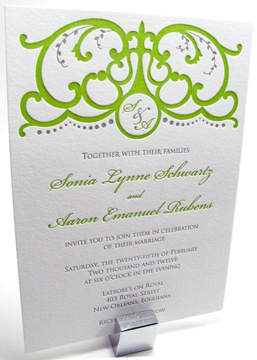 Spanish Gate Wedding Invitations