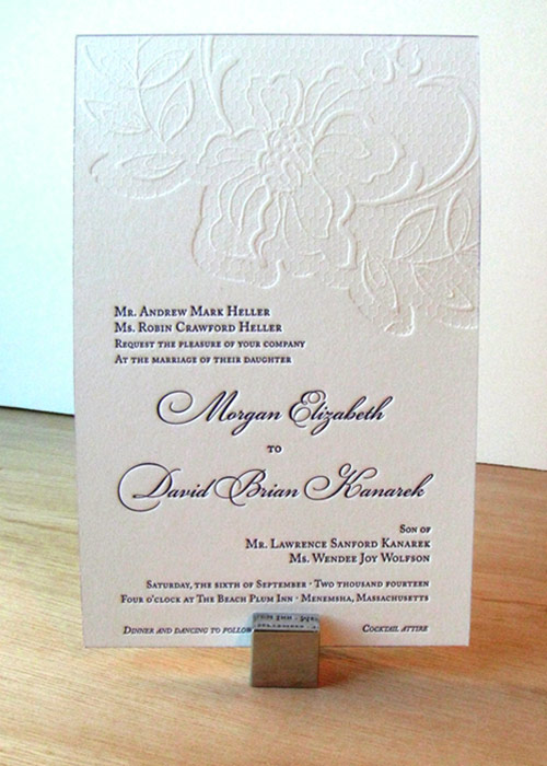 Understated Gray White Wedding Invitations By Sideshow Press Via Oh So Beautiful Paper 3