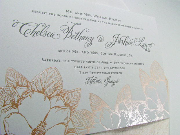 Atlanta Luxury Wedding Invitation Designer