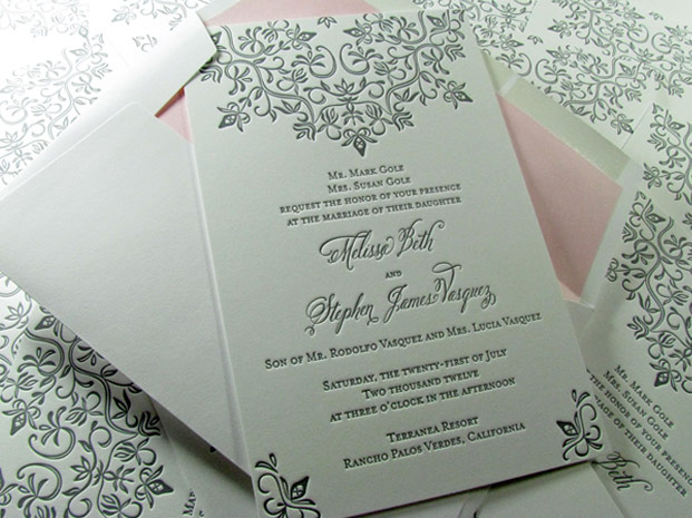 Wedding Invitations With Enclosures And Envelopes