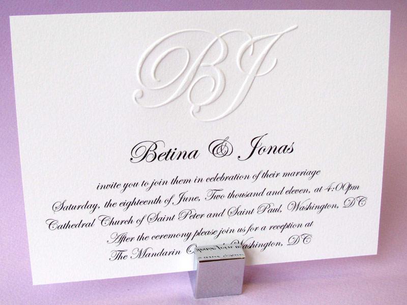 Order Custom Wedding Invitations