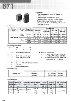 8711CCR1U0112VDC datasheet  Specifications: Manufacturer: Song Chuan ; Product