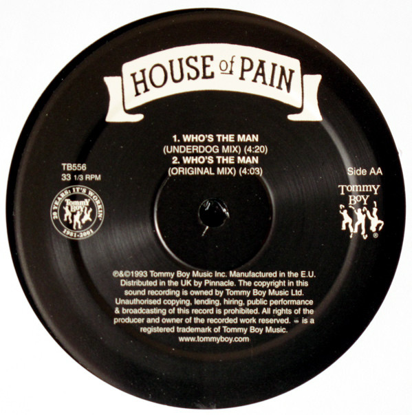 House Of Pain U2013 Shamrocks And Shenanigans / Whou0027s The Man