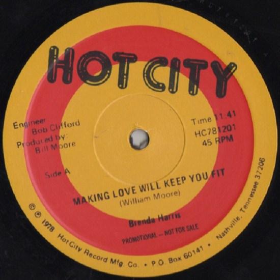 Brenda Harris - Making Love Will Keep You Fit