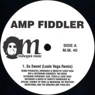 Amp Fiddler - So Sweet label