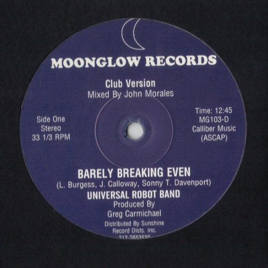 Universal Robot Band - Barely Breaking Even A