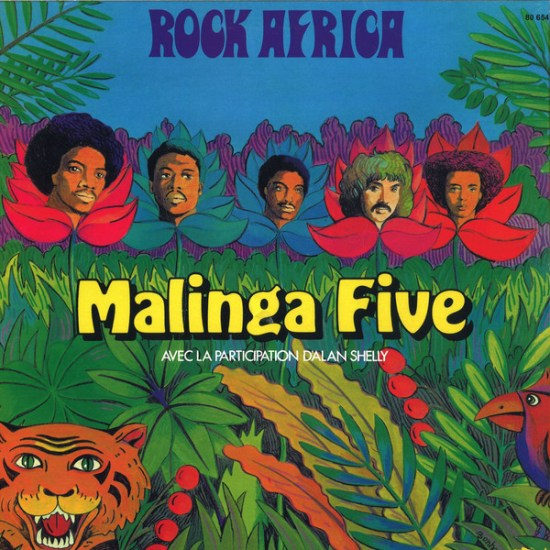 Malinga Five - Rock Africa LP