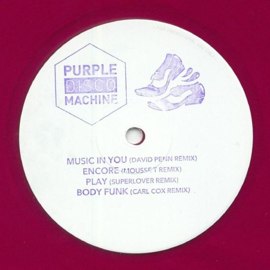 Purple Disco Machine ‎– Soulmatic Remixes
