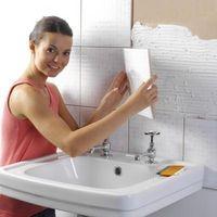 como instalar tile grout de bano