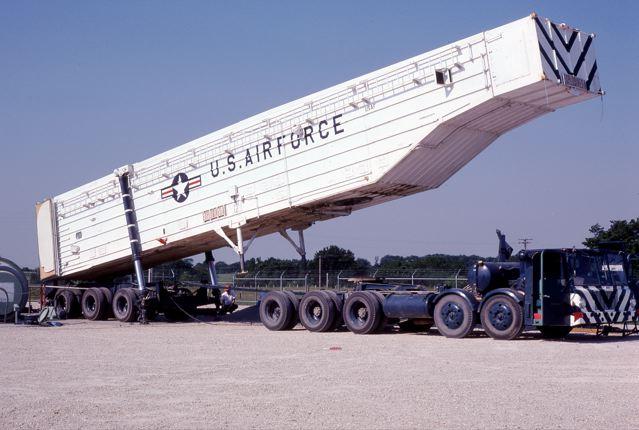 Transporter Erector Minuteman Rocket