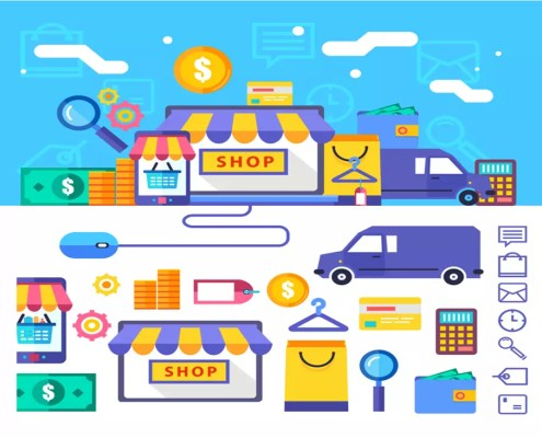 scaled ecommerce system