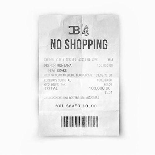 French Montana - No Shopping Feat. Drake (Prod. By Murda Beatz)
