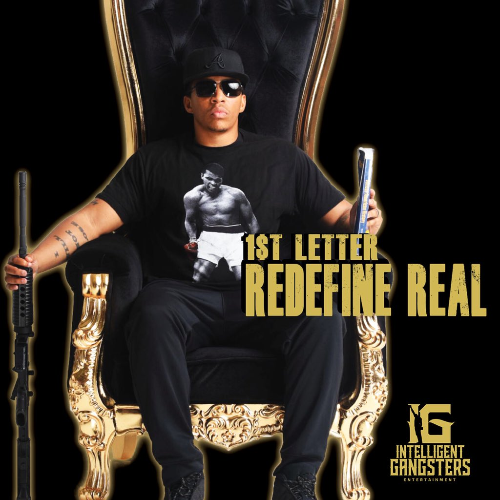 "1$t Letter (@1st_Realest) - ""Redefine REAL EP"""