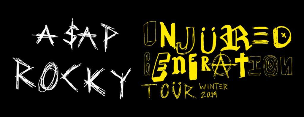 A$AP Rocky Announces 'Injured Generation' Tour