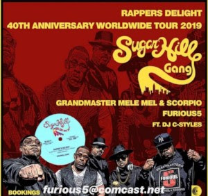 """Sugarhill Gang Celebrates the 40th anniversary of their hit """"Rapper's Delight"""""""