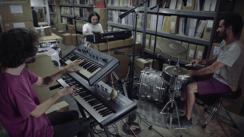 "Rejoicer shares live performance of ""Double Astral Move"" in the Stones Throw Dungeon"