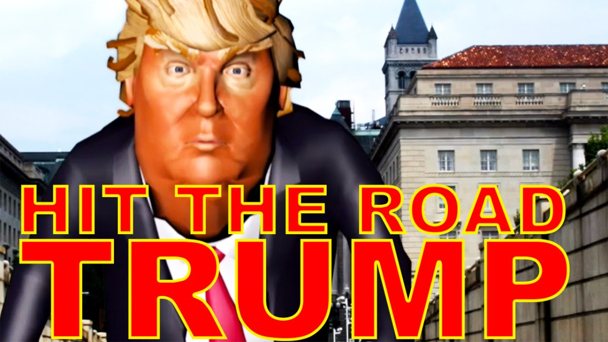 "Timid (@TimidMC) - ""Hit The Road Trump"""
