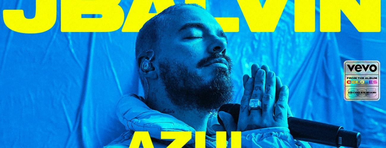 "J Balvin (@JBALVIN) – ""Azul"" | VEVO Live Performance"