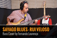 RUI VELOSO – SAYAGO BLUES – BASS COVER BY FERNANDO LOURENÇO
