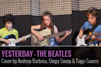 YESTERDAY – THE BEATLES COVER BY ANDREIA BARBOSA DIOGO SOUSA e TIAGO SOARES