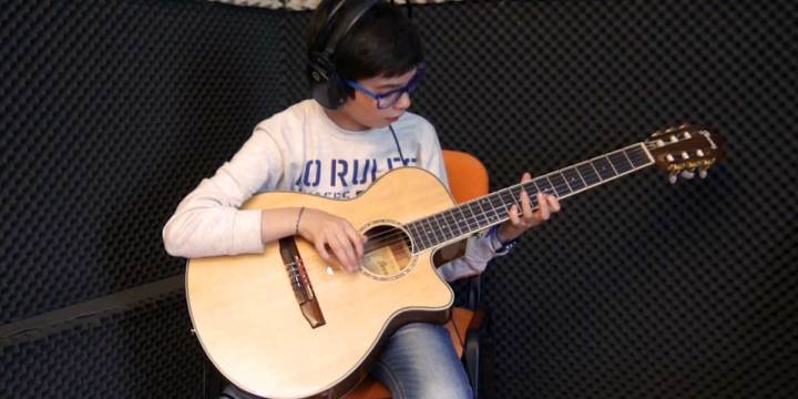 THE ENTERTAINER – Estudo de Guitarra por Guilherme Portela
