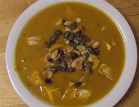 Kürbis-Orangen-Suppe