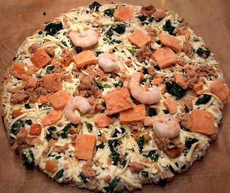 Meeresfrüchtepizza von Costa