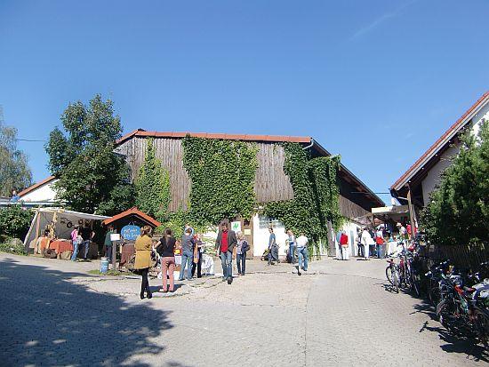 Abschiedsfotovom Berghof Schöllkrippen (Ziegenfest)