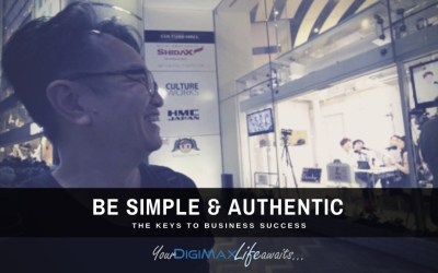 Succeed by being Simple & Authentic