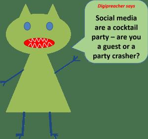 Digipreacher social media