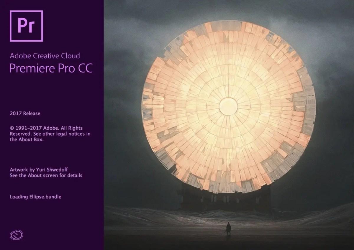Adobe Premiere Pro Splash Screen