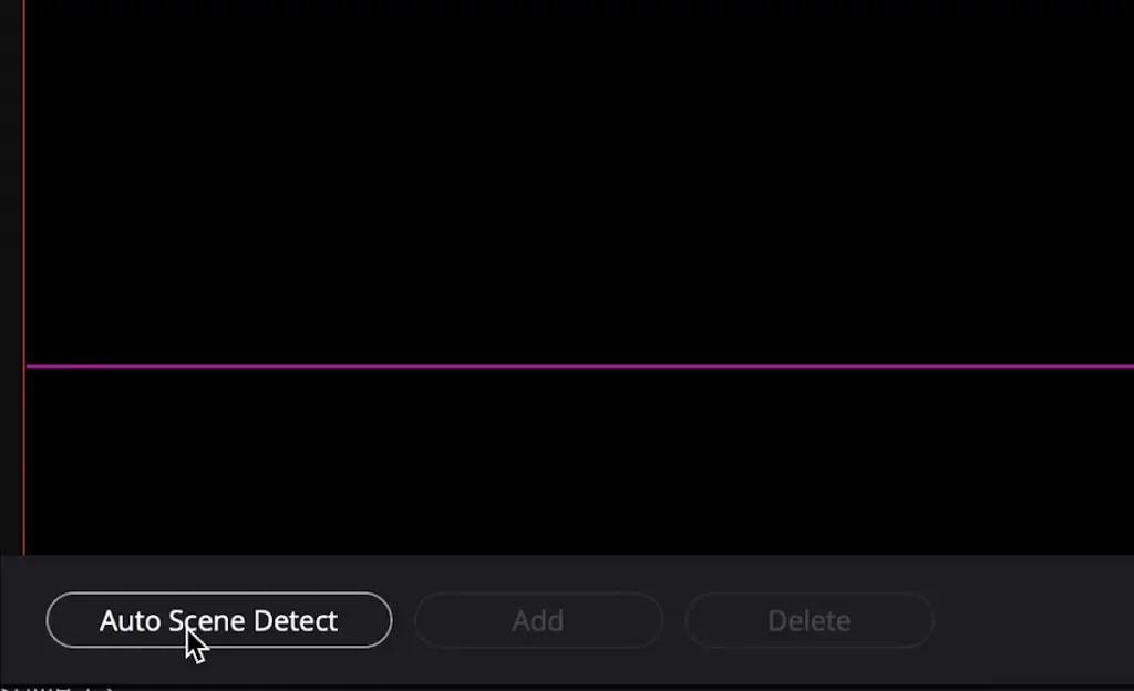 Select Auto Scene Detect