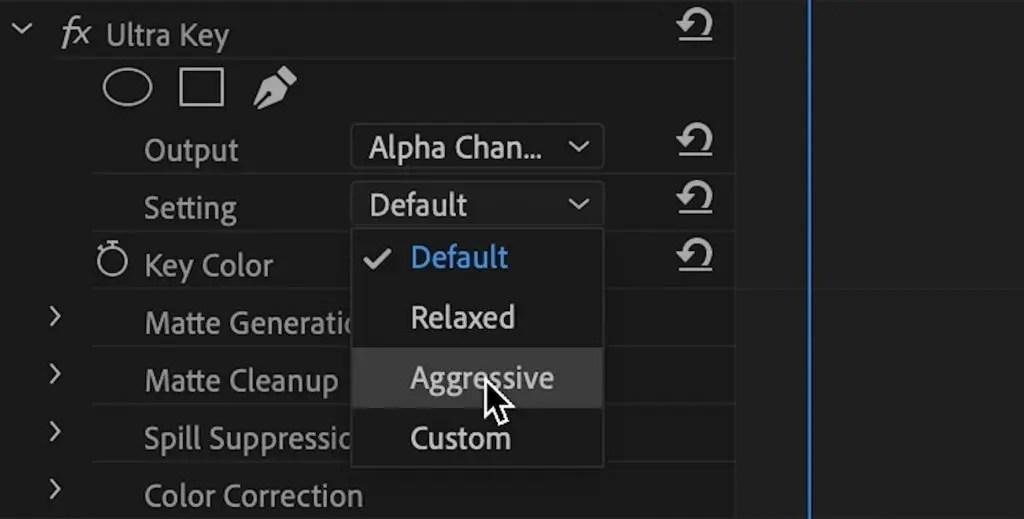 Ultra-Key-Aggressive-Setting
