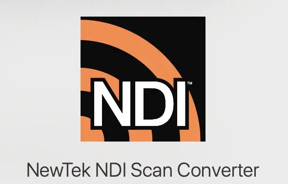NewTek NDI Scan Converter