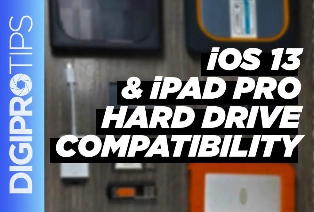 iOS 13 Hard Drive Compatibility