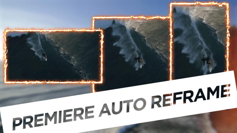 Premiere Pro CC 2020 Auto Reframe