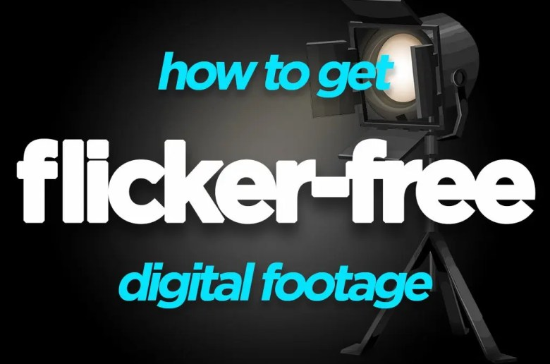 Flicker in Video - Framerate and shutter speed