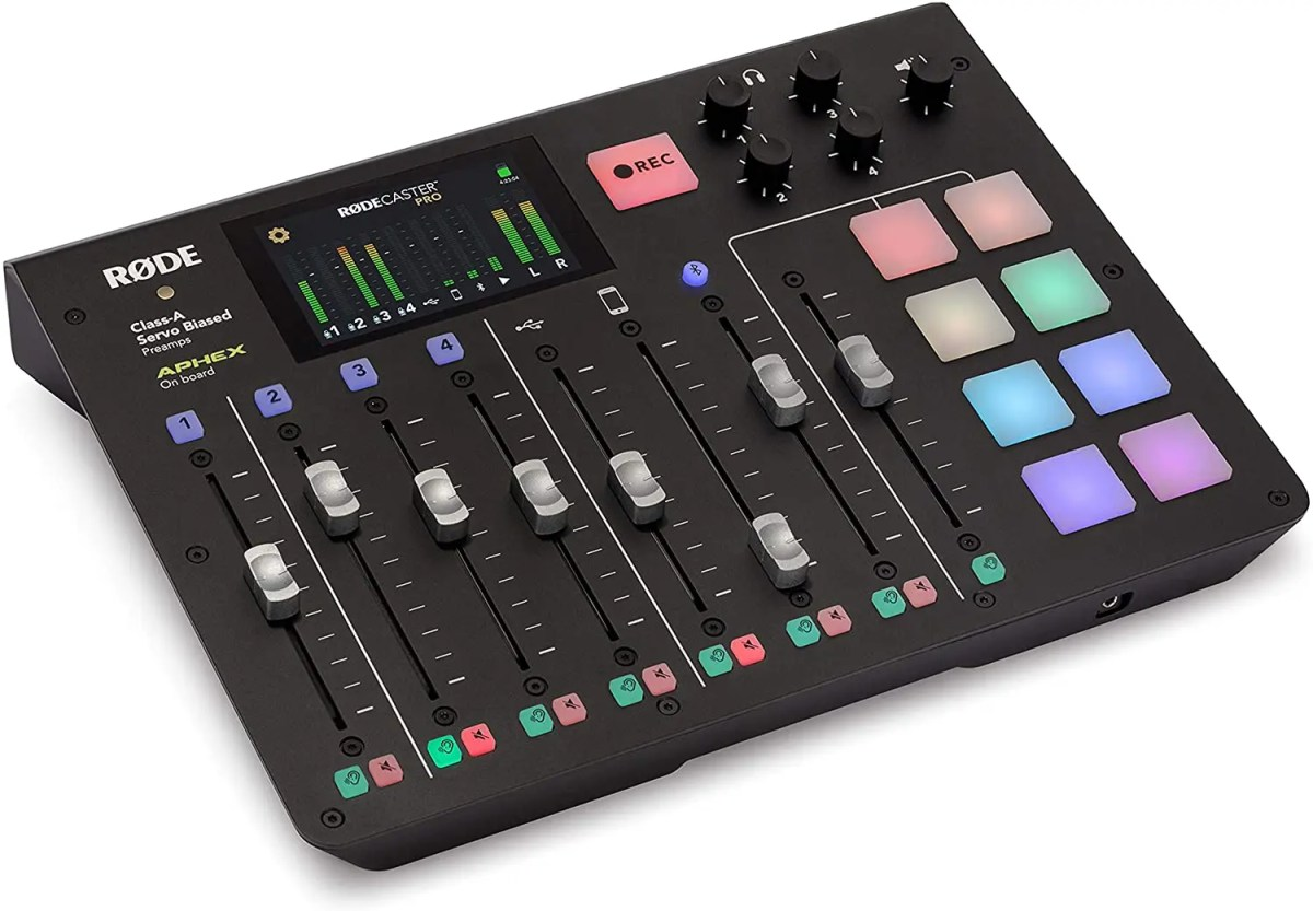 RODE Rodecaster Pro Production Interface