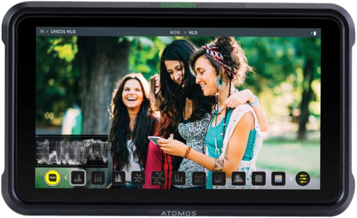 Atomos Shinobi External Camera Screen