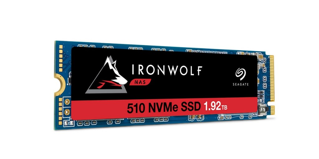 IronWolf M.2 SSD - best ssd for nas