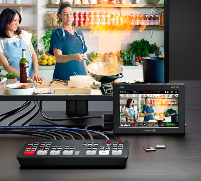 Blackmagic Peripherals for ATEM Mini - video production switcher
