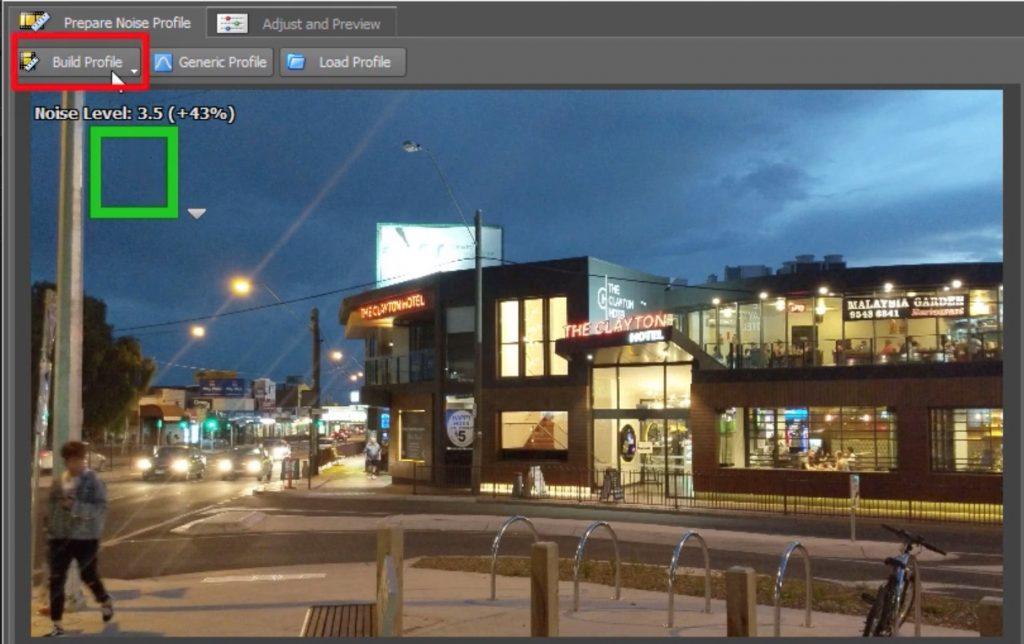 Neat Video Build Profile Denoiser for Premiere Pro