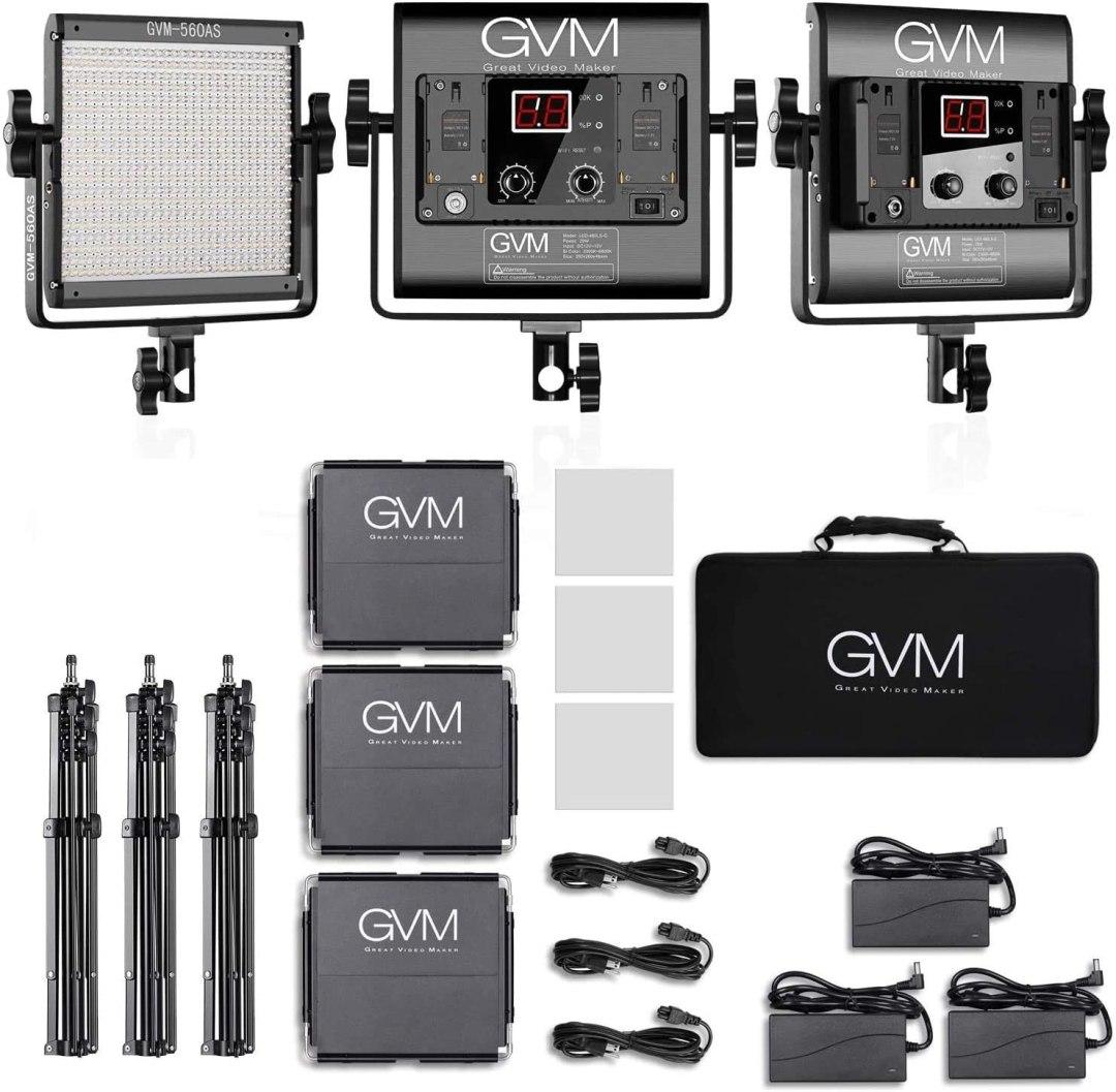 GVM Bi-Color LED - YouTube Studio