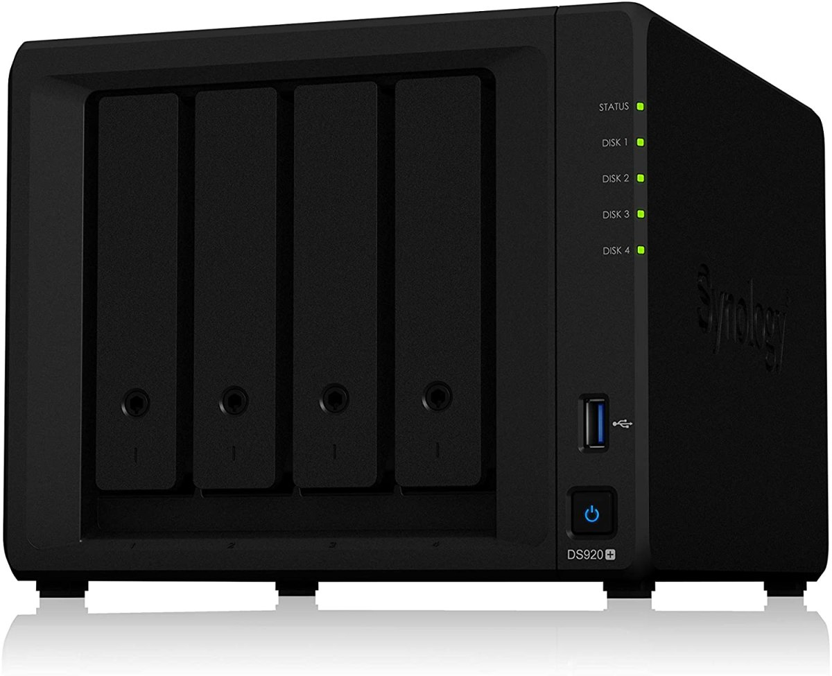 Synology DS920+ - nas for video editing