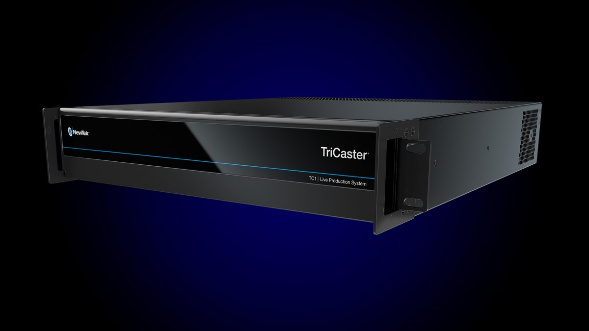 Tricaster-TC1 best video switcher for streaming