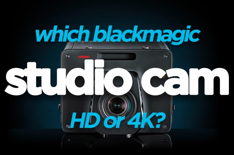 Blackmagic Studio Camera 4K